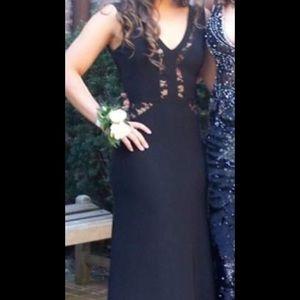 Prom dress. Black. Size 3/4